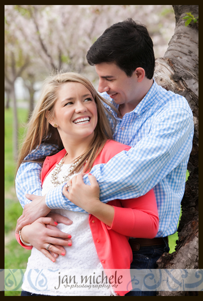 22Washington DC Cherry Blossom Engagement Photos