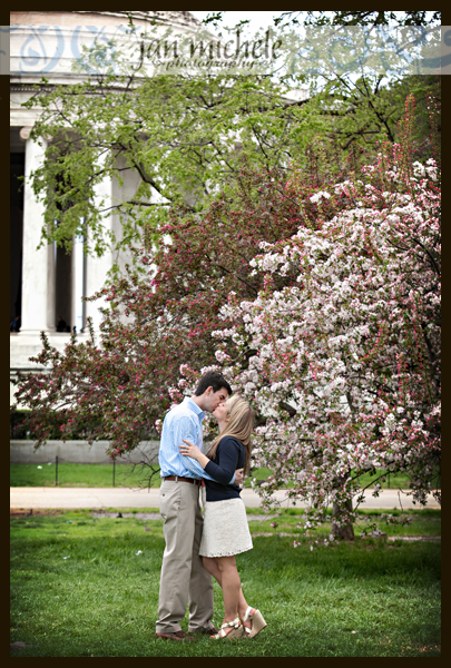 47Washington DC Cherry Blossom Engagement Photos
