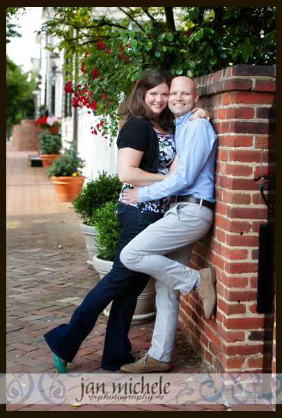 001 Old Town Alexandria VA Engagement Pictures