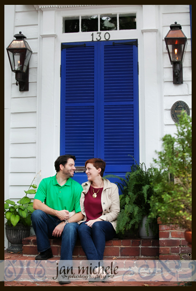 34 Old Town Alexandria Engagement Picture