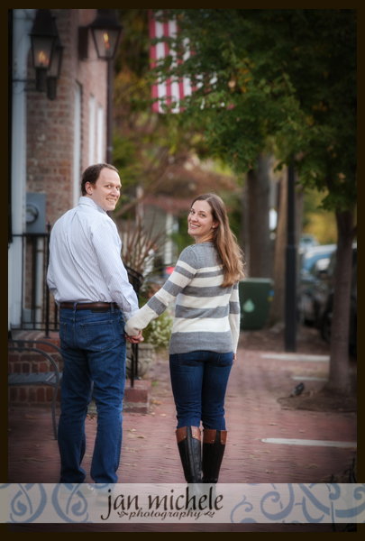 Old Town Alexandria Va Engagement Photographer Courtney