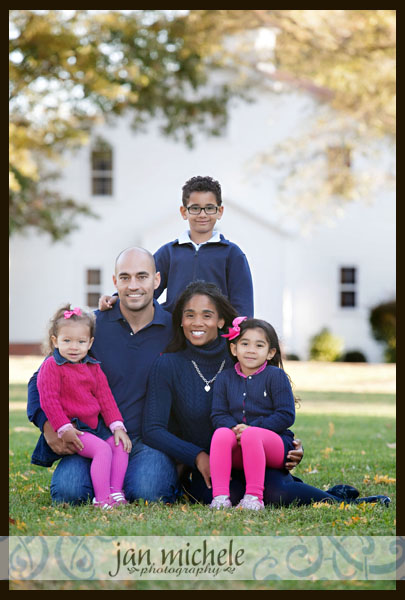 07Washington DC Family Photographer Fall Leaves Family Picture