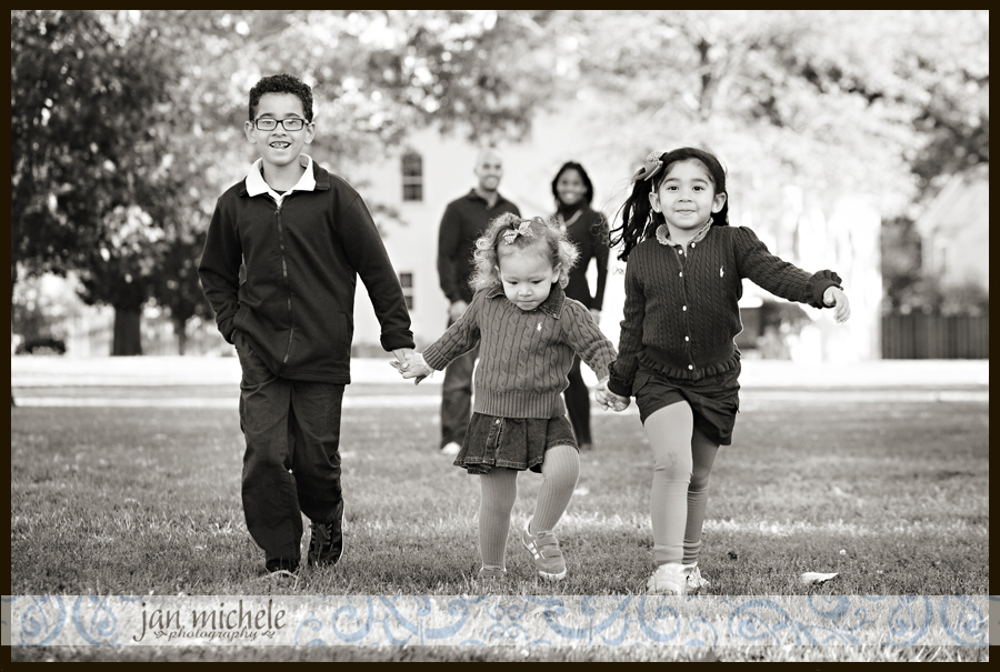 13Washington DC Family Photographer Fall Leaves Family Picture