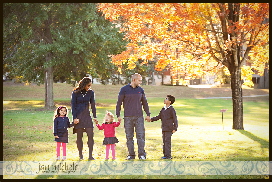 19Washington DC Family Photographer Fall Leaves Family Picture