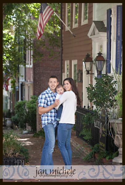 44 Old Town Alexandria Family Photo
