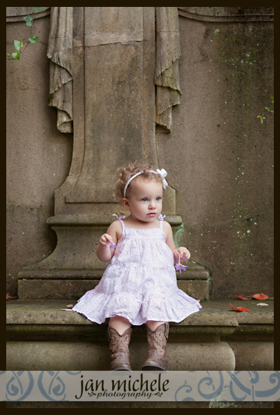 013 Washington DC Professional Photo Girl in Garden