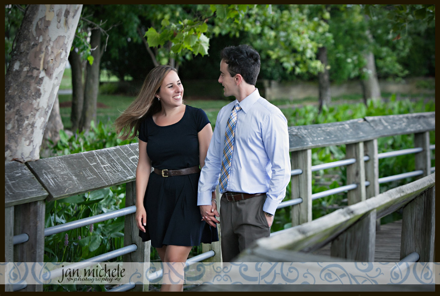21Old Town Alexandria Summer Engagement Photos