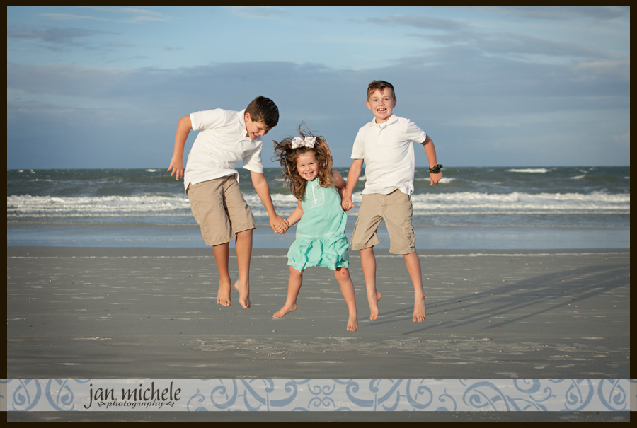 030 Jacksonville Beach Florida Kids Photos
