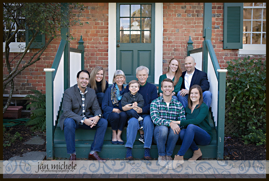 010 Fall Family Pictures Green Spring Garden Fairfax Virginia