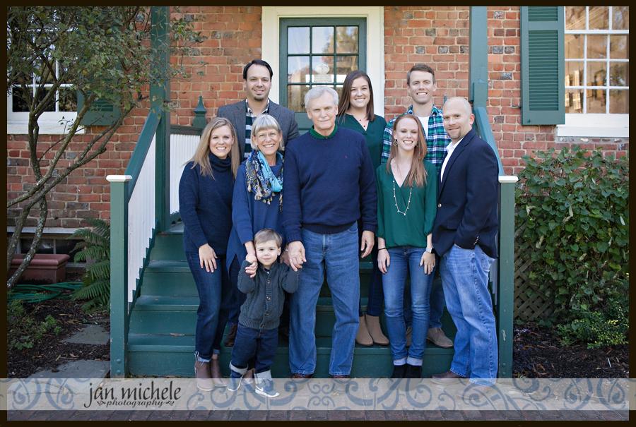 011 Fall Family Pictures Green Spring Garden Fairfax Virginia