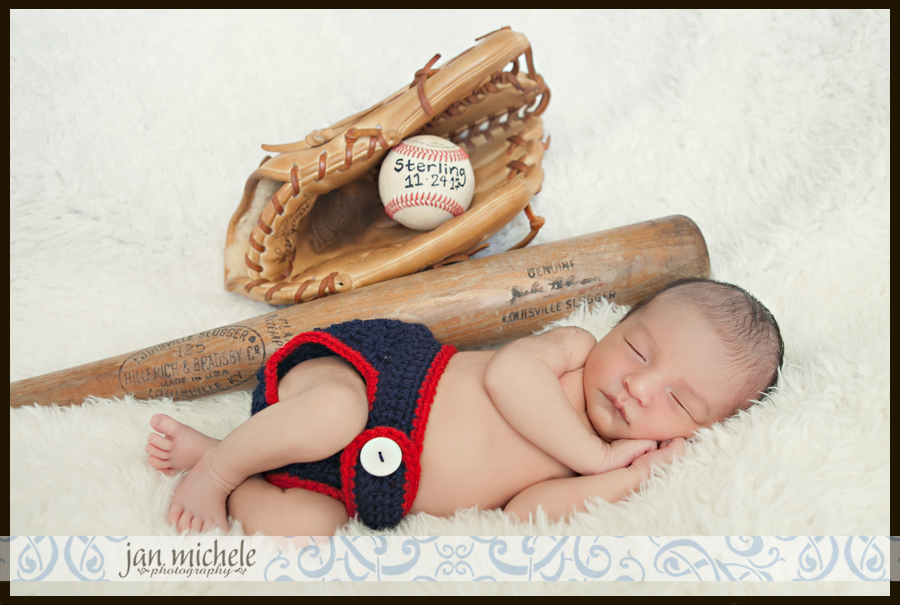 013 Baseball themed baby nursery