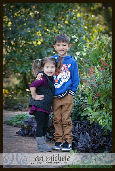 05 Green Spring Garden Family Pictures