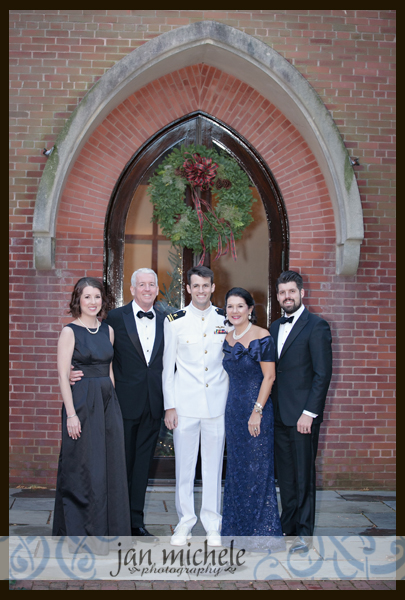 1064 Winter Army Navy Country Club Wedding Picture