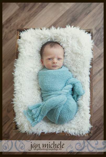 003Fraternal Twin Newborn Boy Professional Pictures