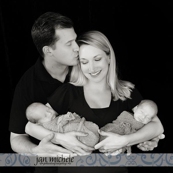 021 Identical Twin Boy Newborn Pictures