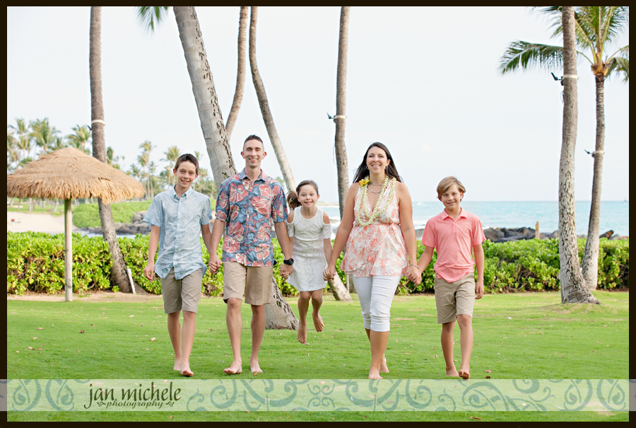 020 Oahu Family Photos Sunset Beach Hawaii