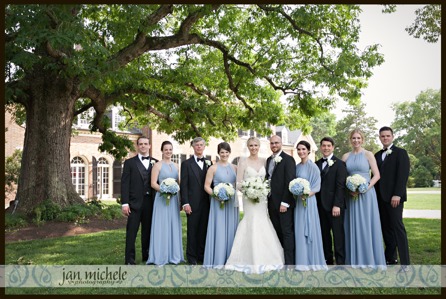 5004 Woodlawn Wedding picture