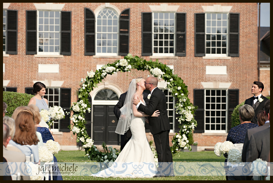6140 Woodlawn Wedding picture